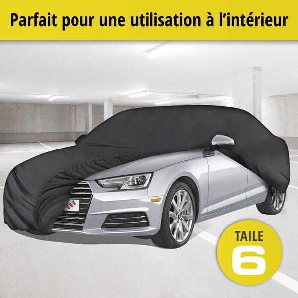 Bâche pour voiture d'intérieur Soft size 6 noir