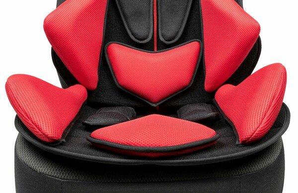 PKW Sitzauflage X-Race schwarz rot