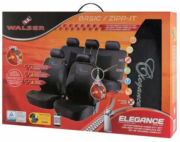 ZIPP-IT Basic Elegance Autositzbezüge mit Reissverschluss System