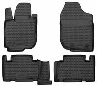 XTR rubber mats for Toyota RAV 4 III year 2010 - 08/2014