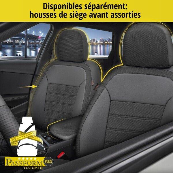Housse de siège 'Aversa' pour VW Polo Highline de 2017 à aujourd'hui - 1 Housse de siège arrière pour les sièges normaux