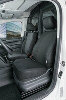 Transporter Seat covers made of polyester for VW Caddy, single front seat