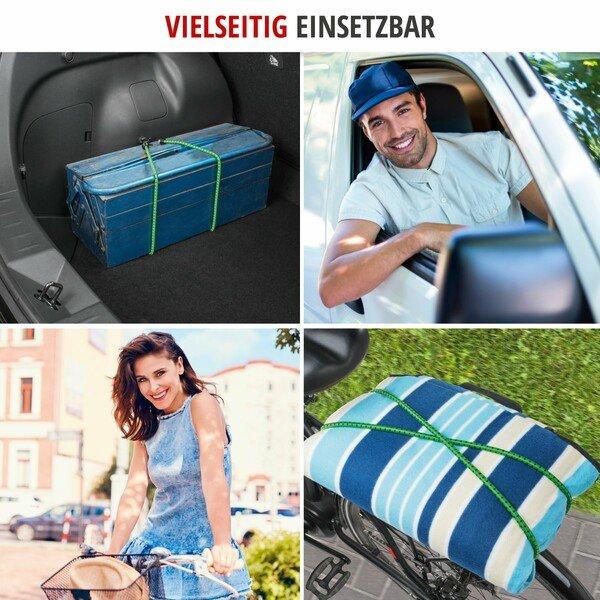 Gepäckspanner 60 cm 2 Stück grün