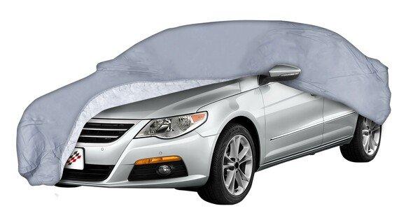 Bâche pour voiture All Weather Premium taille 5 grise