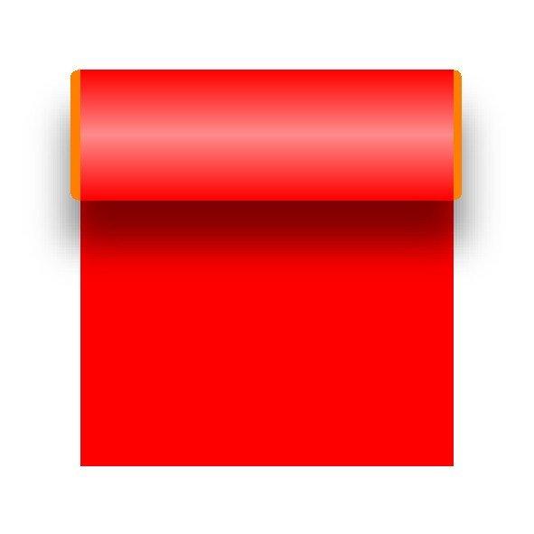 PKW Zierfolie Klebefolie Rot 25 x 500 cm