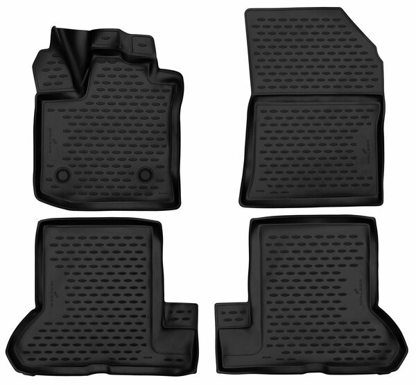 XTR rubber mats for Dacia Dokker year 11/2012 - Today