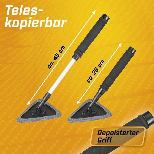 5in1 Autoscheibenreiniger teleskopierbar 26-45 cm