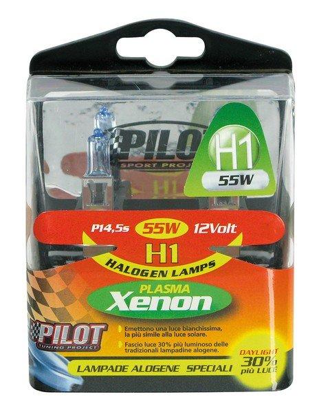 Xenon-H1 Halogen bulbs 55W 12V
