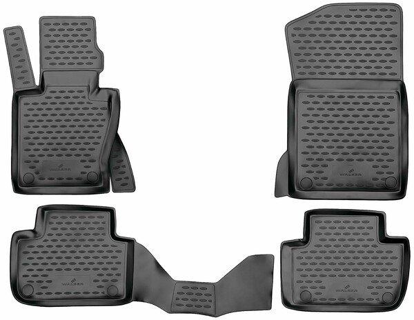 XTR rubber mats for BMW X3 (E83) year 2003 - 2011