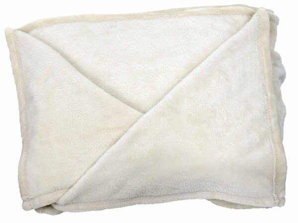Snuggle blanket XL with sleeves beige