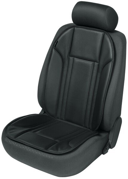 Car Seat cover in imitation leather Ravenna black