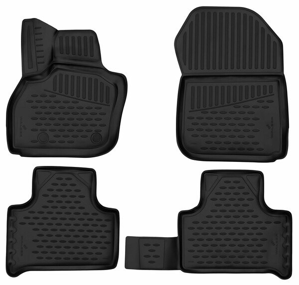 XTR rubber mats for Renault Zoe year 06/2012 - Today
