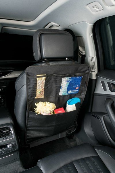 Car seat back seat organizer Jeremy black