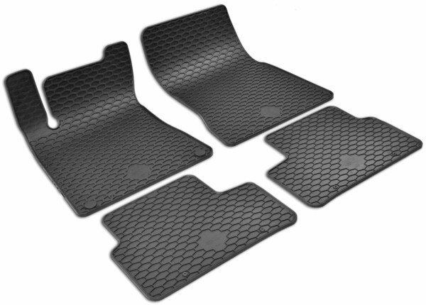 Rubber mats RubberLine for Mercedes-Benz A-Class (W177) 2018-Today, B-Class (W247) 2018-Today, GLB (X247) 2019-Today
