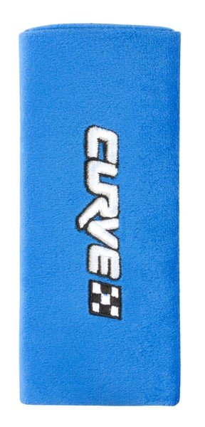 Curve mini belt pads belt protector blue from 3-4 years