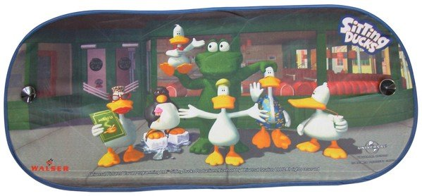 Sonnenschutzschild Sitting Ducks Family Heckscheibe 94x44cm