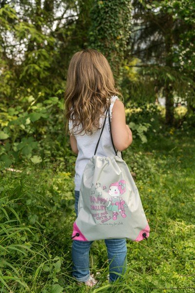Sac de sport Ballet Doll rose