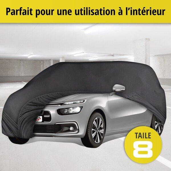 Bâche pour voiture d'intérieur Soft size 8 noir