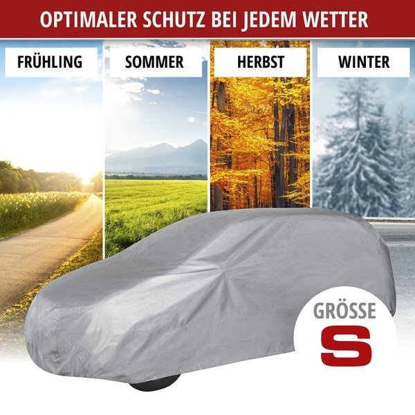 Autoplane Abdeckplane All Weather Light SUV Vollgarage Größe S hellgrau
