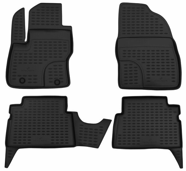 XTR rubber mats for Ford Kuga I year 02/2008 - 11/2012