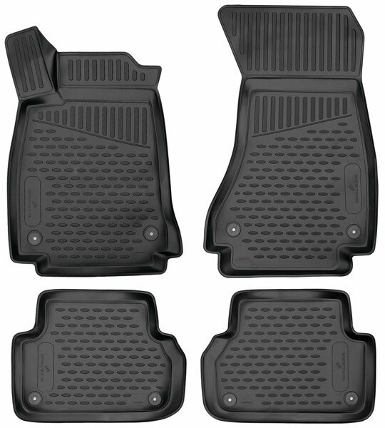 XTR rubber mats for Audi A4 year 05/2015 - Today, A4 Avant year 08/2015 - Today, A4 Allroad year 01/2016 - Today