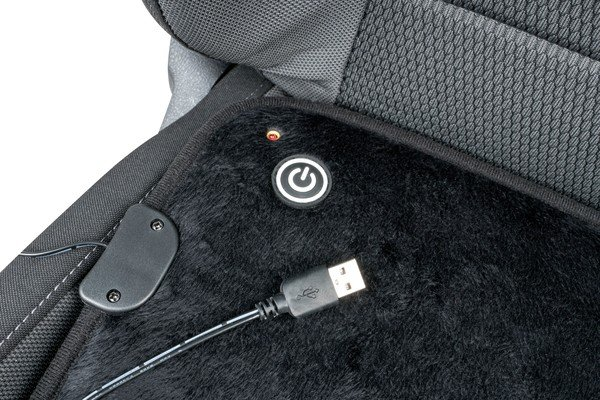 Seat heating Heating pad with USB plug
