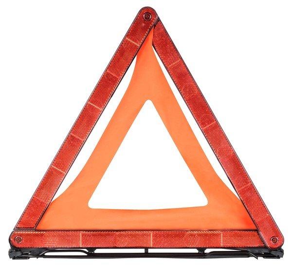 Triangolo di ripartizione Triangolo di avviso con faretra rossa