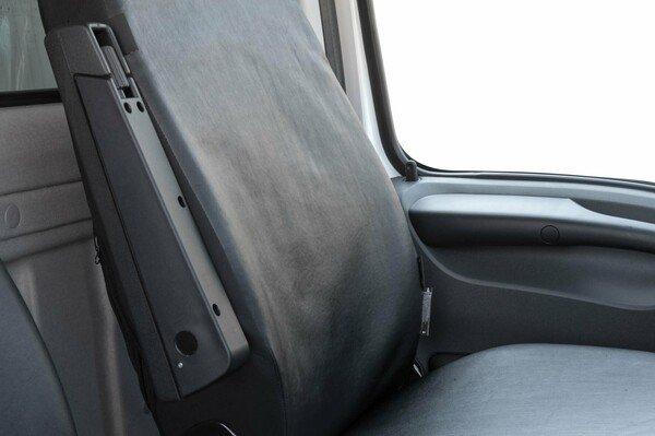 Autositzbezüge für Iveco Daily IV Kunstleder Einzelsitz und Doppelbank vorne ab Baujahr 2006-08/2011