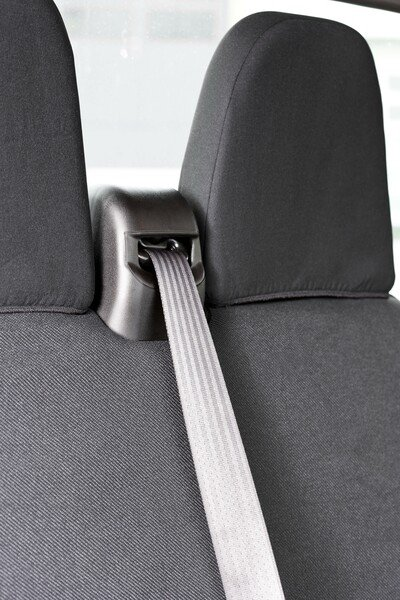 Car Seat covers for Iveco Daily IV fabric single seat and double bench front from 2006 - 08/2011