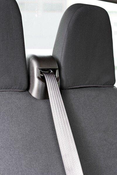 Housse de voiture en polyester compatible avec Iveco Daily IV, banquette unique et double