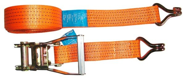 Load belt 8m/50mm - with hook and ratchet 2000daN