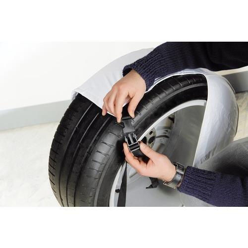 Protection solaire Housse de pneu 2 pièces taille L