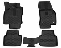 XTR rubber mats for VW Tiguan II (AD1) year 2016 - Today