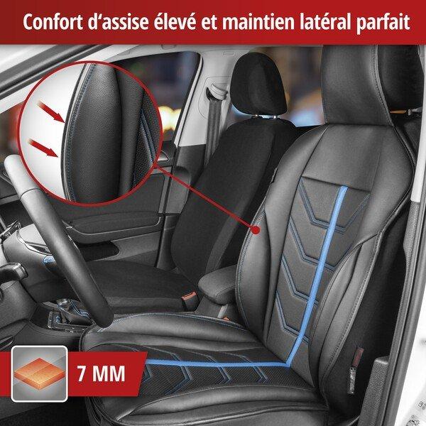 Housses de sièges Kimi noir bleu
