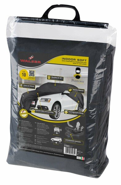 Car tarpaulin Indoor Soft size 10 black