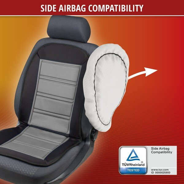 Heating Pad, Seat Heating Car Seat Warm Up black-grey