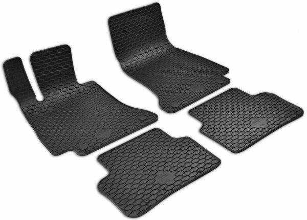 Rubber mats RubberLine for Mercedes-Benz CLS 12/2017-Today