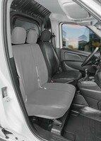 Housse de siège Transporter en simili cuir pour Ford Transit Conect, siège conducteur unique