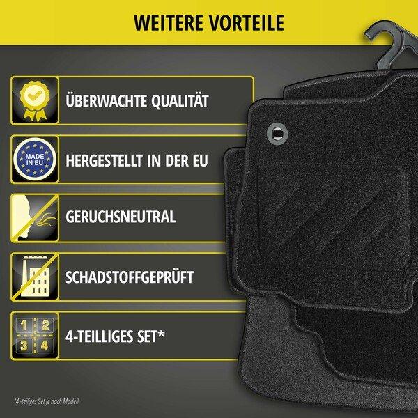 Fußmatten für Peugeot 308 SW Baujahr 05/2014 - Heute