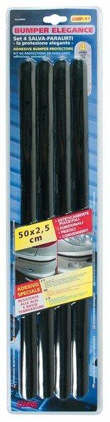 Protection anti-chocs autocollante 4 pièces 50x2,5 cm