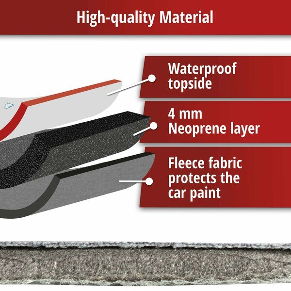 Car hail protection tarpaulin Perma Protect SUV size L
