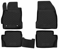 XTR rubber mats for Mazda 2 year 07/2007 - 06/2015