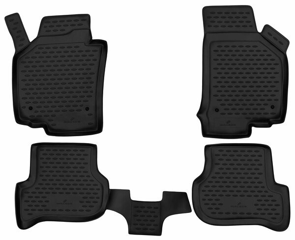 XTR rubber mats for Seat Leon year 05/2005 - 12/2013