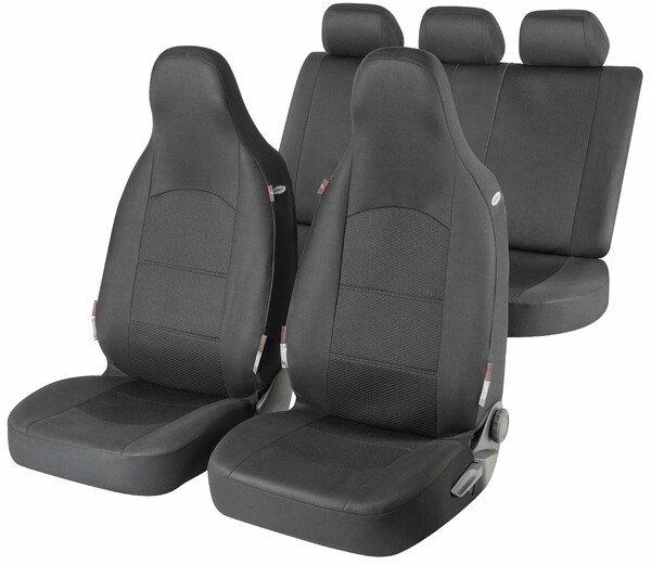 ZIPP IT Premium Derby - housses de siège auto complètes avec système de fermeture éclair
