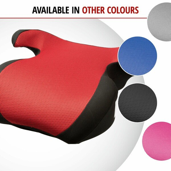 Booster seat Lino black/red