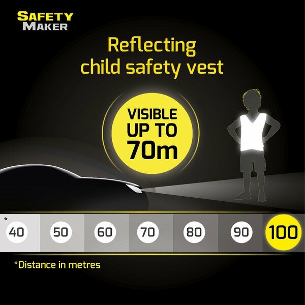 Safety vest 7-14 years Jumping Kids